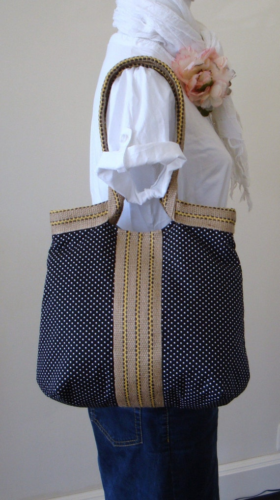 French TRES CHIC hobo bag