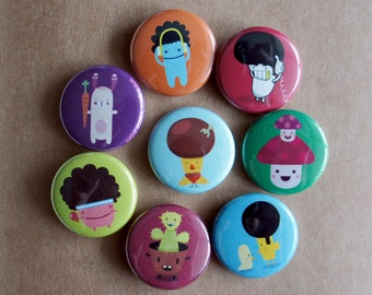 Pick Any 5 Fun 1 Inch Pins
