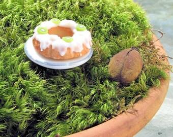 Miniature Banana Kiwi Pound Cake