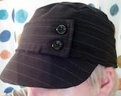 The Pinstripe Suit Cadet Hat