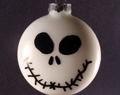 Jack Skellington Glass Ornament - Nightmare Before Christmas