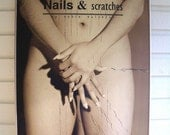 Fine art nude photograph - Nails and Scratches - 1999 - (600 x 900 mm)