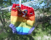 Rainbow soaker custom made to order all sizes