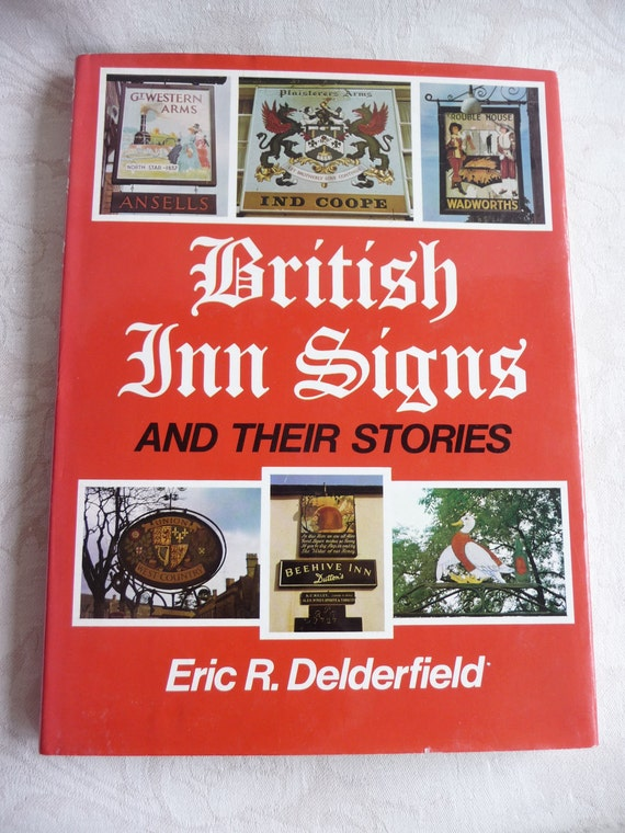 British Inn Signs and their Stories vintage book