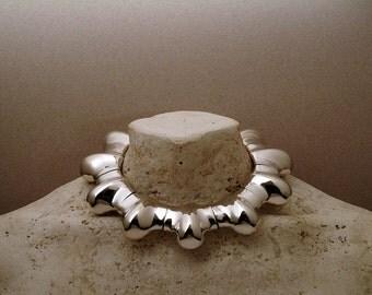 Blossom Bloom sterling silver neckpiece