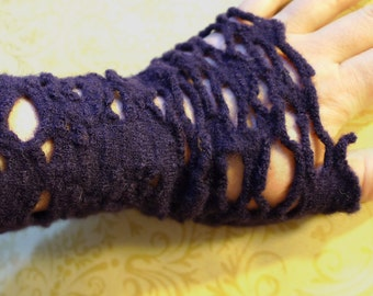 Arm Warmers, Arm Warmers in Mauve, Lilac Arm Warmers, Arm Warmers for Women, Purple Arm Warmers