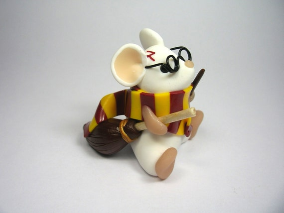 Harry Potter Mouse Limited Edition Sculpture Ornament