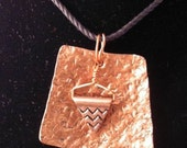 Hand Hammered Copper Necklace