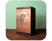 Vintage Copper Plate Printer's Block - Portrait - Qty 1 - Lot 646