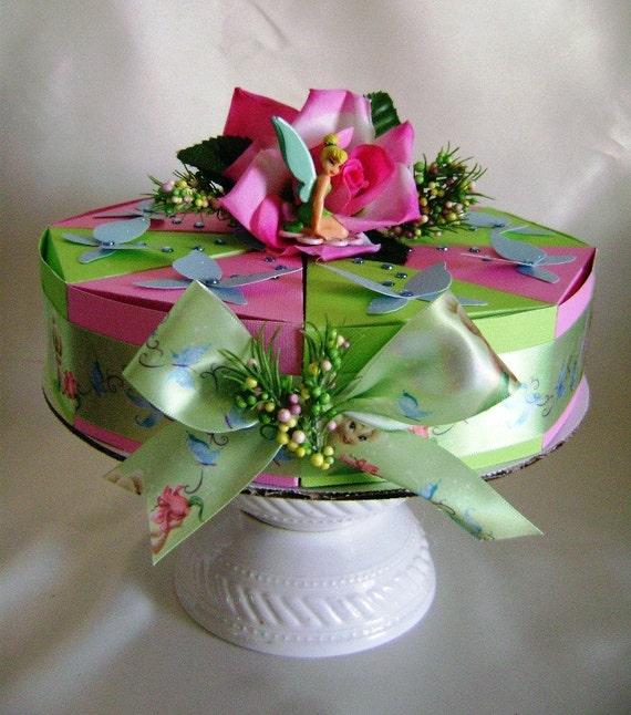 Disney Tinkerbell in Pixie Hollow Birthday Favor Cake