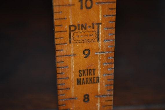 Vintage Pin It Skirt Marker