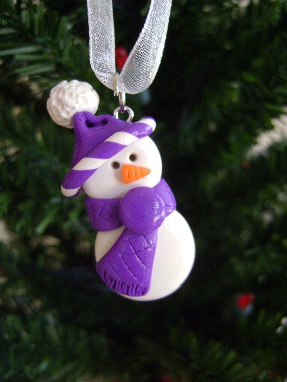Items similar to polymer clay christmas ornament large on etsy