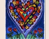 Heart - greeting card