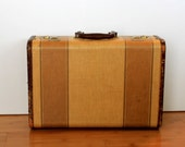 Anitque 1950's Carry On Suitcase