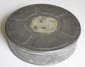 Large Vintage Kodak Eastman Movie Tin by Uptown Vintage