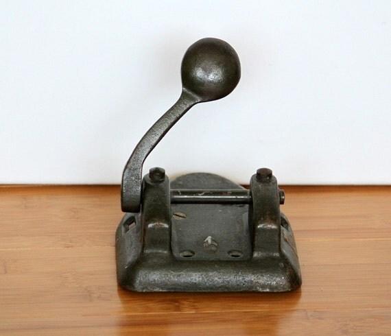 Antique marvel 2 hole punch - Antique peephole ...