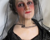 She Mourns for You 1940s Delicate Soft Black Veil
