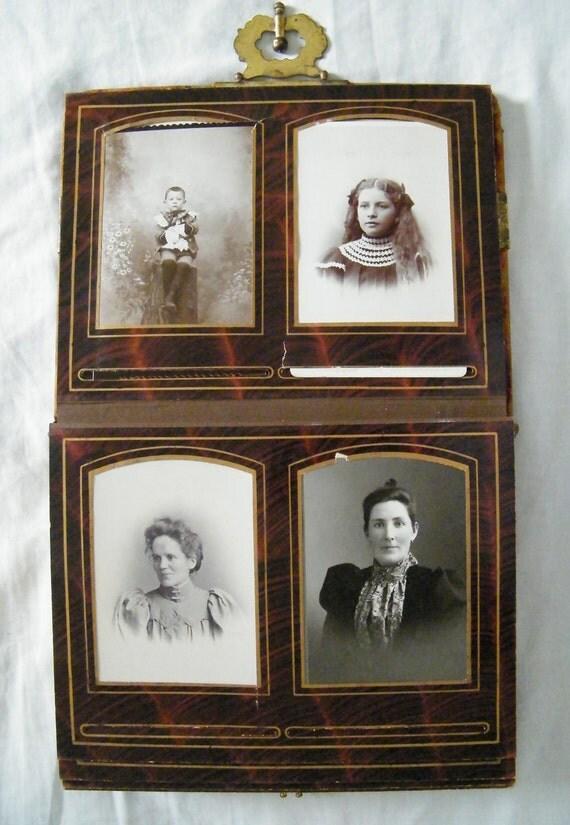 Antique Photo Album -- 46 Photos