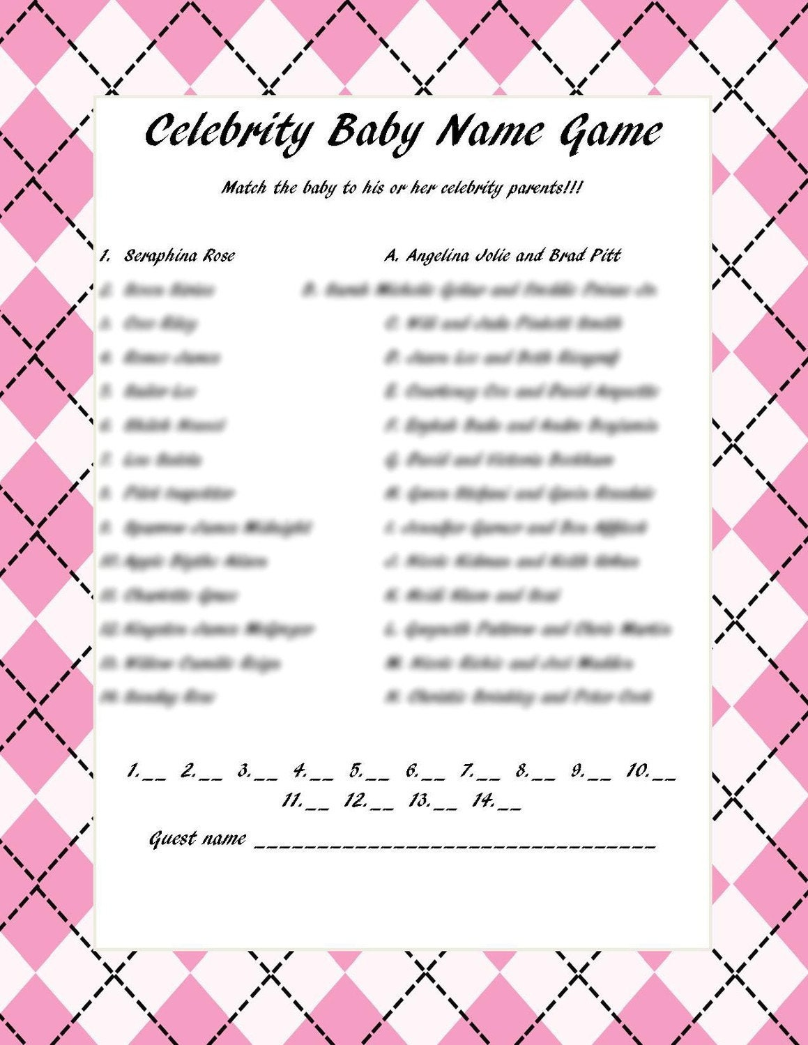 Celebrities Party Rules and Gameplay - thesprucecrafts.com