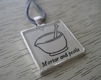 Mortar and Pestle Pendant