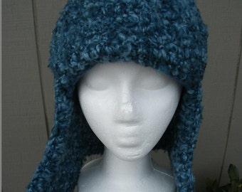 Crochet adult lumberjack hat