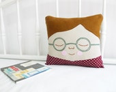 Cushion - Boy with Spectacles, Nick