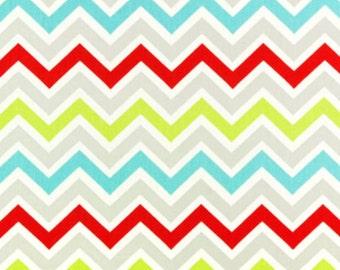 SALE - Premier Prints Fabric - Zoom Zoom Chevron in Harmony Twill