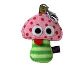 Toadstool Mushroom Keychain