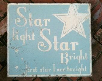 """Star Light Star Bright """"Fun Size"""" 9 x 10"""