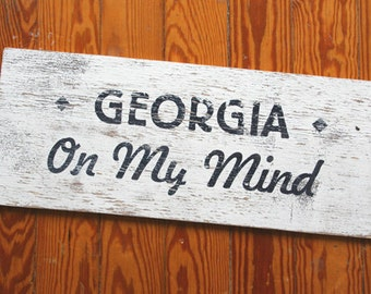 Georgia on my Mind 9x22