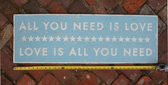 All You Need is Love 12x35