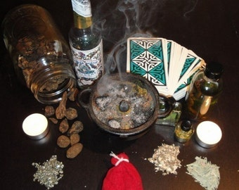 Full Magical Hoodoo Consultation - Tarot Intuitive Reading, Remedy / Spell Advice (via Typed Email)
