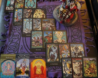 In Depth Chakra Analysis Tarot  and Oracle Reading -  24 Card Spread (via Typed Email)