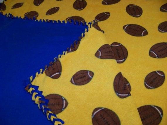 Braided Fleece Blanket - full sized