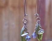 Amnesia Rose Earrings - Discontinued/NOW HALF OFF