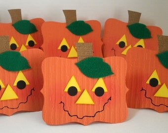 Punkin Treat Toppers