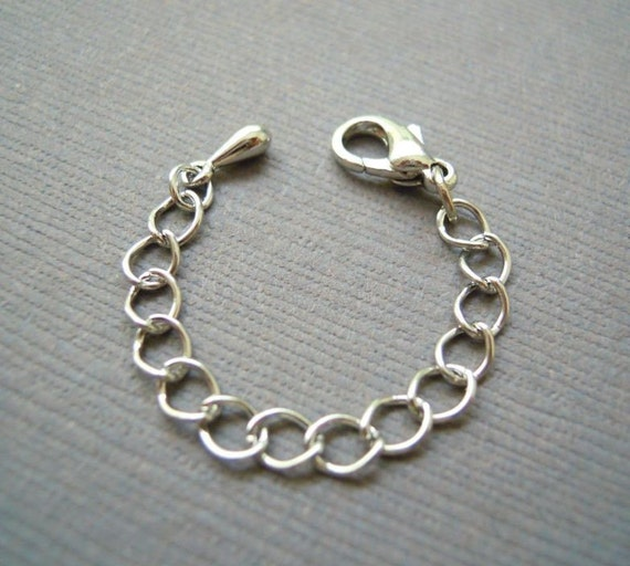 Silver Chain / Necklace Extender
