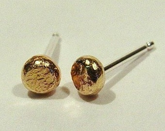 14K Gold Earrings / Gold Studs