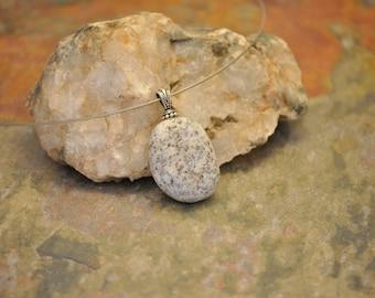 Beach Rock Necklace - Quartz Sparkles