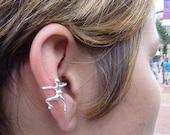 925 Sterling Silver Jewelry Funky Fancy Ear Wrap Ear Cuff
