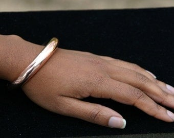 Copper Bracelet Bangle Very Thick