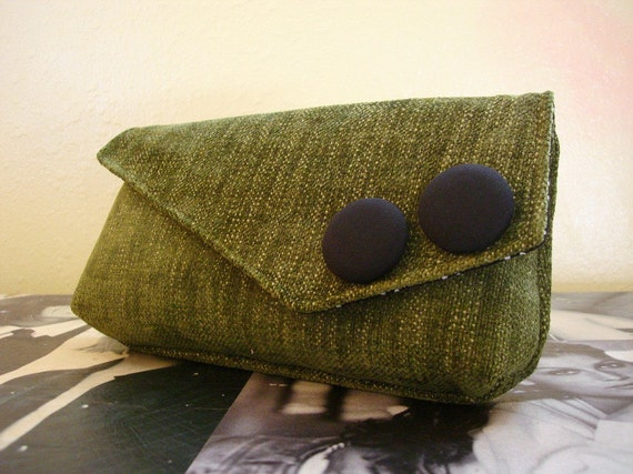 Moss Pocket Clutch