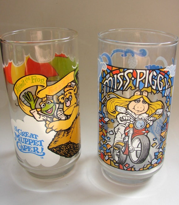 Set of 2 The Muppet Movie Glasses