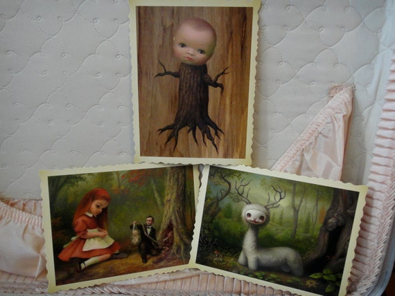 Mark Ryden Postcards- The Tree Show