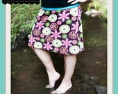 Easy Knit Skirt: 5 Steps and a Hem PDF Pattern