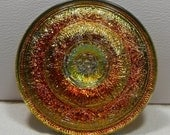 Jewel-like Czech Glass Button