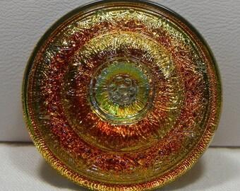 Jewel-like Czech Glass Button