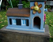 Bird House - Garden - Home Decor - Yard - Indoor Outdoor