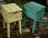 Shabby Furniture, French country, paris apartment, handmade - rustic table