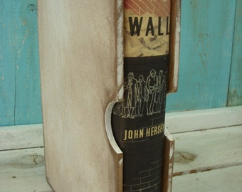 The Wall - John Hersey - First Edition - Vintage Book - Reading - Story - Hard Cover - Edition - Man - Gift Idea - Fathers Day